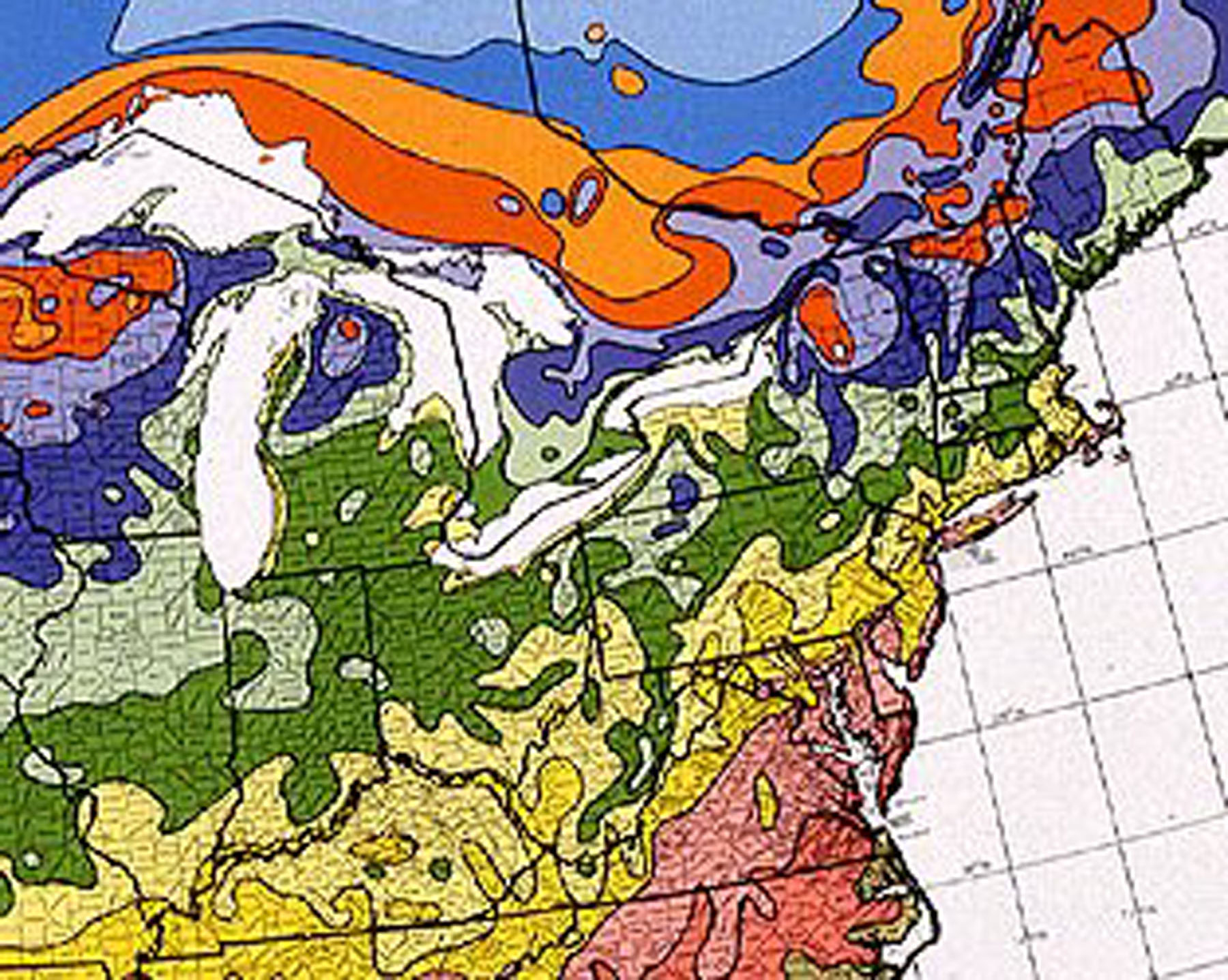 North East United States Map Metro Northeast Giant Sequoias
